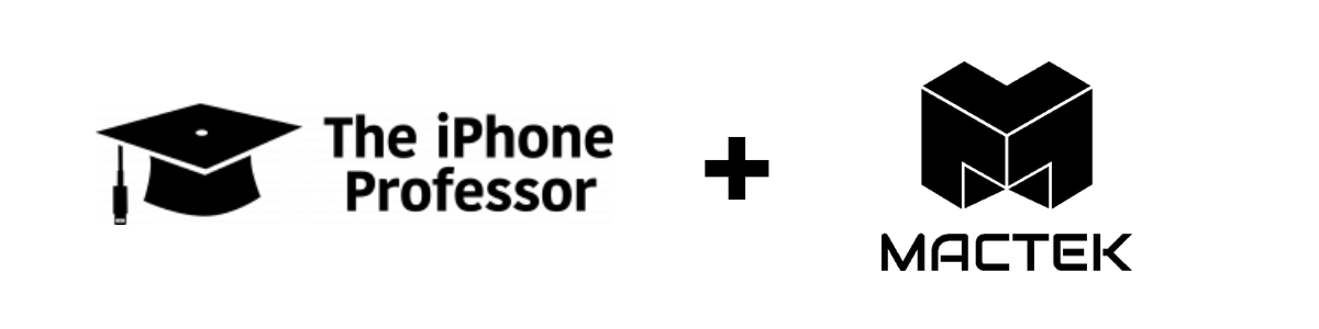 The iPhone Professor and MacTek in Bend, Oregon Join Forces